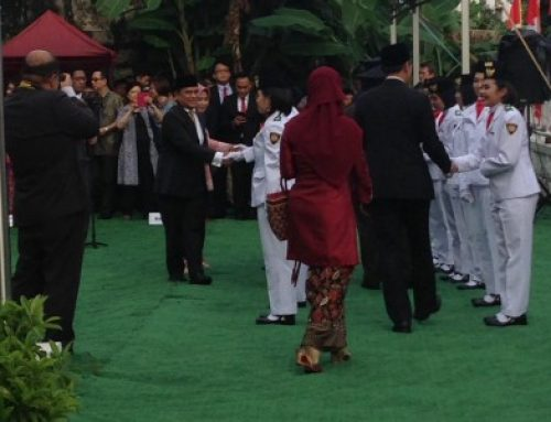 The Republic of Indonesia Flag Ceremony